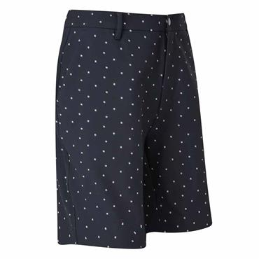 FootJoy Gents Lite Tapered Fit Print Shorts Navy
