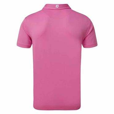 FootJoy Gents Essential Stretch Pique Solid Polo Shirt Berry