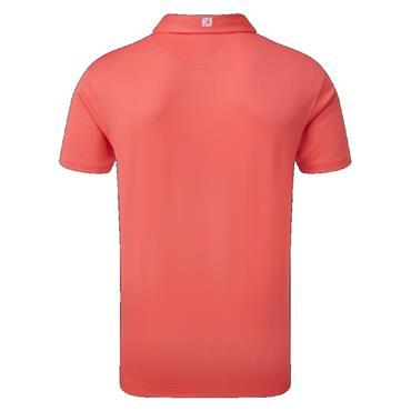 FootJoy Gents Solid Pique Shirt Coral