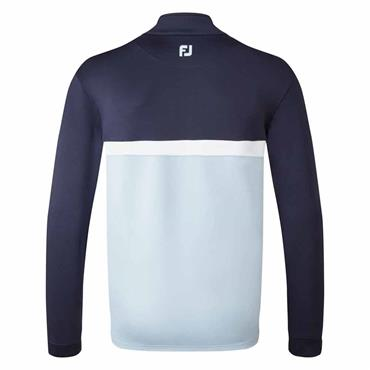 FootJoy Gents Colour Blocked Chill-out Top Navy - Blue