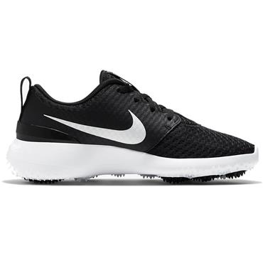 Nike Roshe G Junior Golf Shoes Black - White (007)