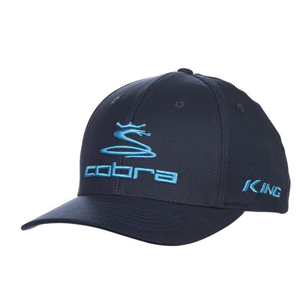 d1f3e4d8d0653 Cobra Pro Tour Stretch Fit Baseball Cap Peacoat