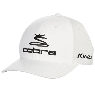Cobra Pro Tour Stretch Fit Baseball Cap White