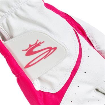 Cobra Ladies Microgrip Flex Glove Right Hand White - Pink