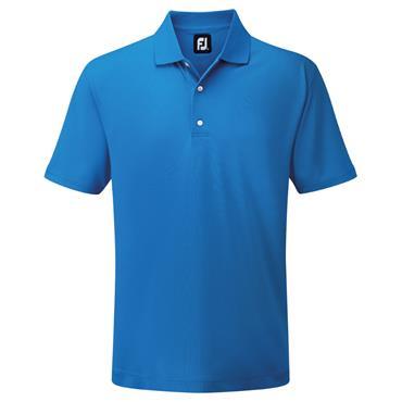 FootJoy Gents Pique SS Shirt Cobalt