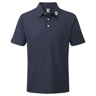FootJoy Gents Stretch Pique Polo Shirt Navy