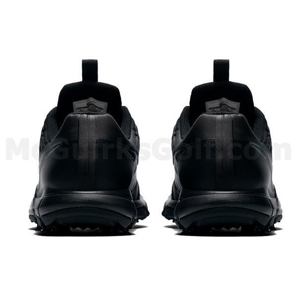 huge discount 18d03 1c9f8 Nike Gents Explorer 2 Golf Shoes Black - White - Silver | Golf Store