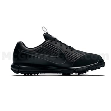 Nike Gents Explorer 2 Golf Shoes Black - White - Silver