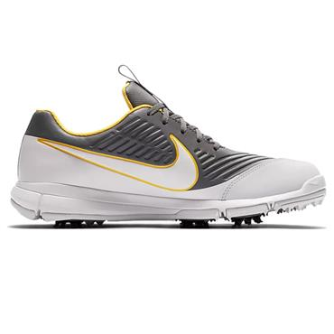 Nike Gents Explorer 2 Golf Shoes Dark Grey - Orange - Platinum