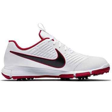 Nike Gents Explorer 2 Golf Shoes White - Black - Red