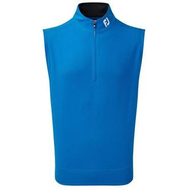 FootJoy Gents Spun Poly 1/2 Zip Vest Cobalt - Black