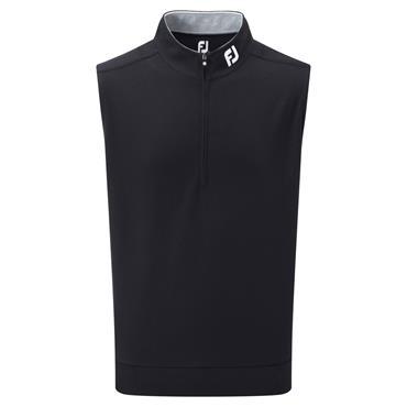FootJoy Gents Spun Poly ½ Zip Vest Black