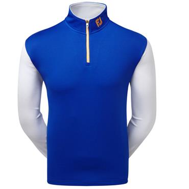 FootJoy Gents Double Layer Chillout Pullover Blue
