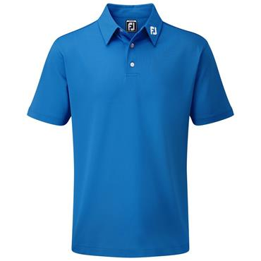 FootJoy Junior - Boys Solid Stretch Pique Polo Shirt Cobalt