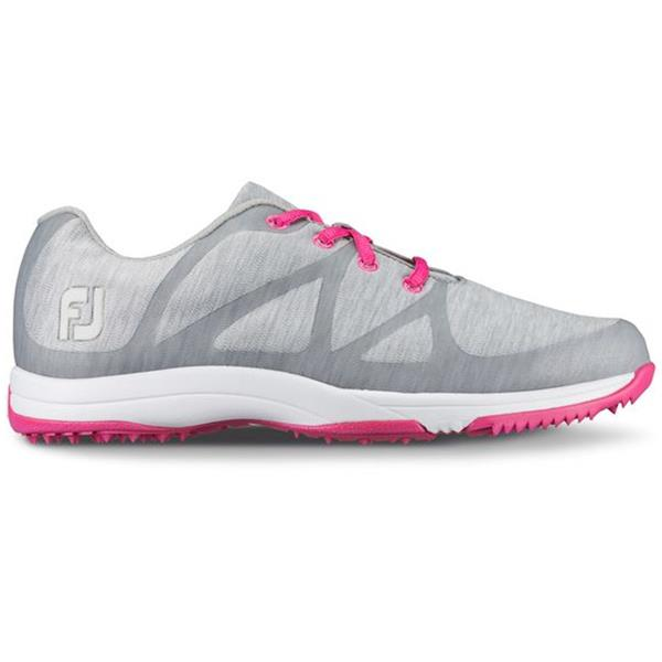 lace up in on sale clear and distinctive FootJoy Ladies Leisure Golf Shoes Wide Fit Light Grey