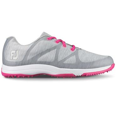 FootJoy Ladies Leisure Golf Shoes Wide Fit Light Grey
