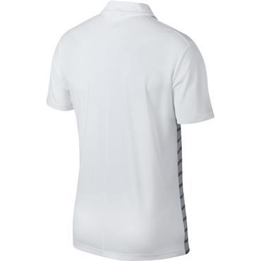 Nike Gents Dry Essential GRFX Polo Shirt White