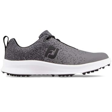 FootJoy FJ Leisure Shoe Medium Fit Black - Charcoal