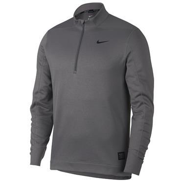 Nike Gents Therma Repel 1/2 Zip Top Grey