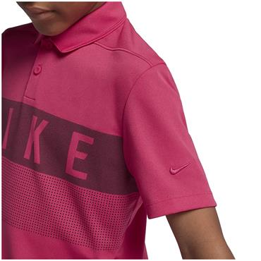 Nike Junior - Boys Dry Polo Shirt Pink