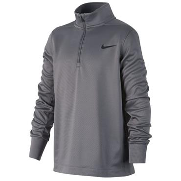 Nike Junior - Boys Dri-FIT Therma Top Grey