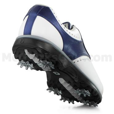 FootJoy Ladies Emerge Shoes Wide-Fit White - Navy