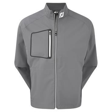 FootJoy Gents HydroLite Rain Jacket Charcoal - Black - White