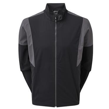 FootJoy HLV2 Rain Jacket Black - White - Charcoal