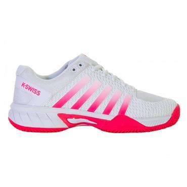 K-Swiss Tennis Ladies Express Light Shoes White - Pink