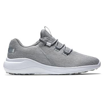 FootJoy Ladies Flex Coastal Shoes White - Grey