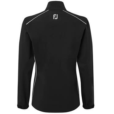 FootJoy Ladies HLV2 Rain Jacket Black - Silver
