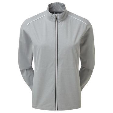 FootJoy Ladies HLV2 Rain Jacket Grey - White