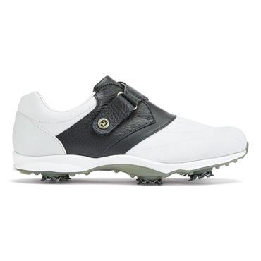 FootJoy Ladies Embody Golf Shoes Medium Fit White - Navy