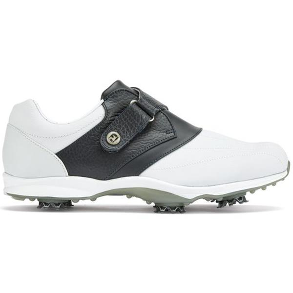 unique style yet not vulgar separation shoes FootJoy Ladies Embody Golf Shoes Wide Fit White - Navy