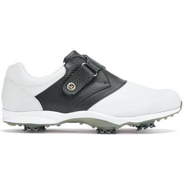 FootJoy Ladies Embody Golf Shoes Wide Fit White - Navy