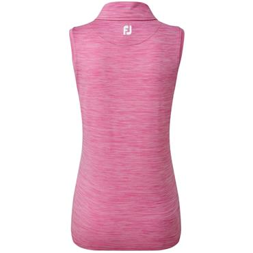 FootJoy W Lisle Sleeveless Shirt Rose