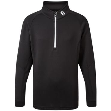 FootJoy Junior Chill Out Pullover Black