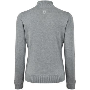 FootJoy Ladies Lined Wool Blend Pullover Grey