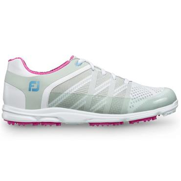 FootJoy Ladies Sport Golf Shoes Wide Fit Grey - Berry
