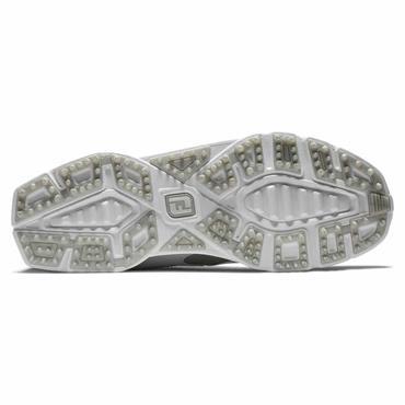 FootJoy Ladies Pro SL Wide-Fit Shoes White - Silver