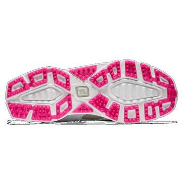 FootJoy Ladies Pro SL Boa Shoe Wide Fit White - Silver - Rose