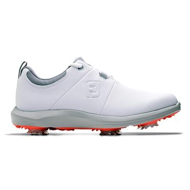 FootJoy Ladies E-Comfort Shoes White - Grey