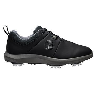 FootJoy Ladies E-Comfort Shoes Black - Charcoal