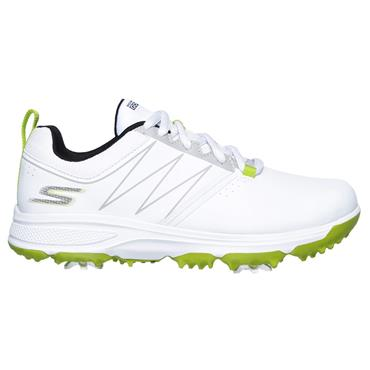 Skechers Junior Boys Blaster Shoes White - Lime