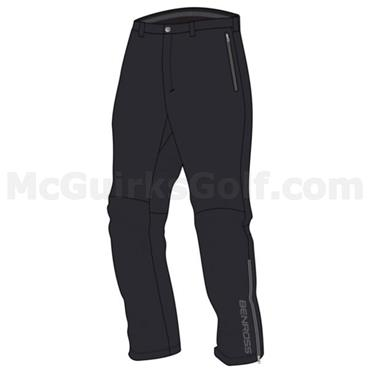 BenRoss Gents Hydro Pro Waterproof Trousers Black