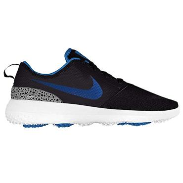 Nike Gents Roshe G Golf Shoes Black - Royal