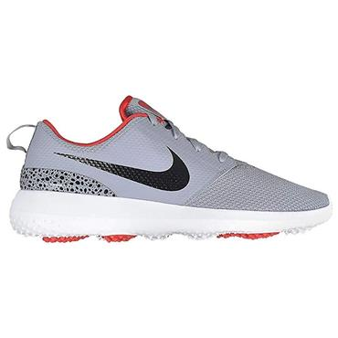 Nike Gents Roshe G Golf Shoes Grey - Red