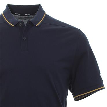Nike Gents Dri-Fit Polo Shirt Obsidian
