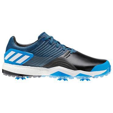 adidas Gents Adipower 4 Golf Shoes Blue - Black