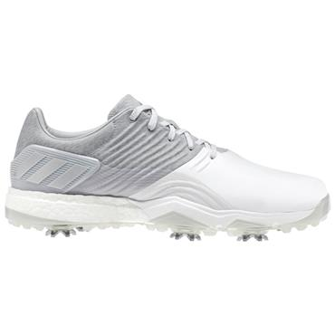 adidas Gents Adipower 4 Golf Shoes Onix - White - Silver